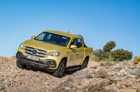 mercedes pick up mercedes reveals the x class a pickup truck with a little luxury