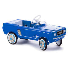 car toy blue 1965 ford mustang kiddie car classics collectible toy car