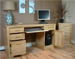 Oak Computer Desks Uk Oak Computer Desk For Home Office Home Design Ideas