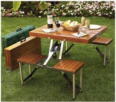 Bench Made From Tailgate Tailgate Wooden Picnic Table Folds Into A Suitcase