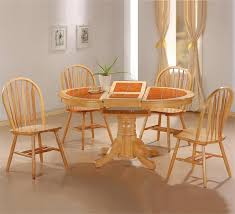 Light Oak Kitchen Table Oval Kitchen Table And Chairs Home Improvement Ideas