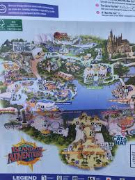 Islands Of Adventure Map Inside Universal On Twitter