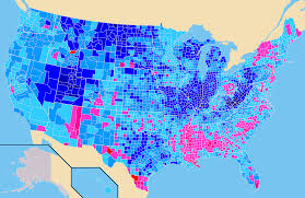2008 Presidential Election Map by U S A World Elections