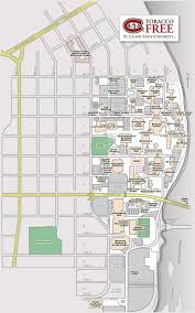 American University Campus Map Scsu Campus Map My Blog