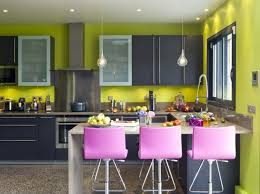 cuisine gris et vert decoration cuisine gris et vert idée de modèle de cuisine