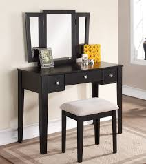 Wood Vanity Table Wood Vanity Table Set Black White Green