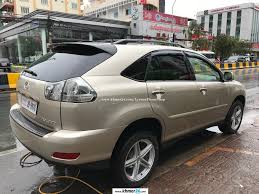 lexus gold lexus rx 330 gold color small screen pong i plate number in phnom