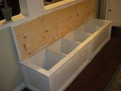 turn a 60 ikea bookcase into a bench seat with storage home