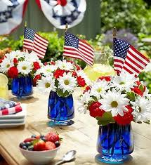 Christmas Table Decorations Blue And White by 253 Best Patriotic Decorating Images On Pinterest Red White Blue