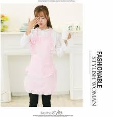blouse de cuisine pink lace apron pinafore cinderella princess edgefold