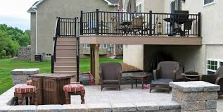 Deck With Patio by Custom Deck Contractors Pa Deck Builders Lancaster County