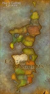 kalimdor map map of eastern kingdoms of warcraft