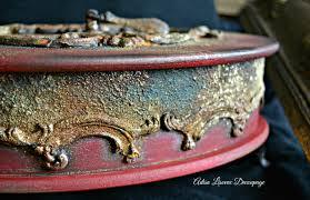 decoupage home decor vintage home decor box rust effect decoupage by adisa lisovac