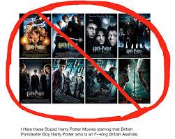 i harry potter movies by darthraner83 on deviantart