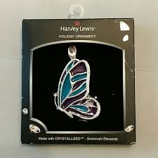 55 harvey lewis jewelry butterfly ornament from wendy s