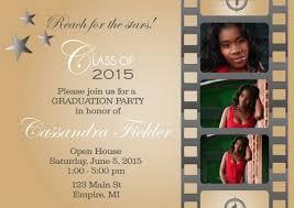 graduation open house invitations best high school graduation party invitations 7452