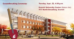 Evcc Campus Map Groundbreaking Ceremony Scheduled For New Everett University