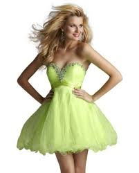9 cute and fun lime green prom dresses
