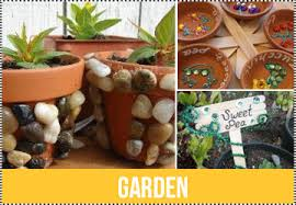 Garden Crafts For Kids - educational crafts