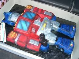 optimus prime cakes optimus prime cake and the best 30th birthday geeky