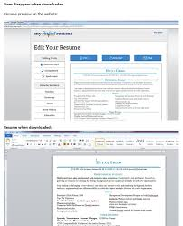 Resume Edit Format Links Affiliated Sites Editing Issues My Knowledge Builder 1
