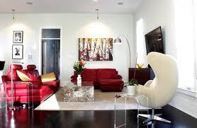 red sofa living room home living room ideas