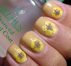 31 inspired days of nail art u2013 day 19 floral print nails of