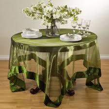 sheer velvet trimmed table linens free shipping on orders