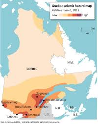 eastern canada could be out billions in the event of an earthquake