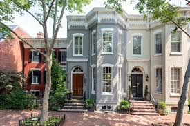 row houses row house color ideas
