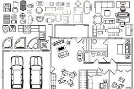 Floor Plans With Furniture Table Plan Photos Graphics Fonts Themes Templates Creative