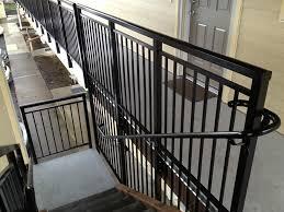 aluminum stair railings exterior many advantages in aluminum