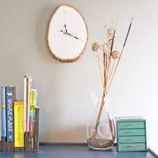 wood slab wall clock pictures photos and images for