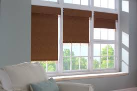 Dark Brown Roman Blinds Decorating Stunning Blackout Roman Shades For Elegant Home