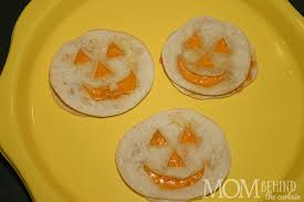 Halloween Party Food Ideas For Tweens by Halloween Recipe Jack O U0027lantern Quesadillas