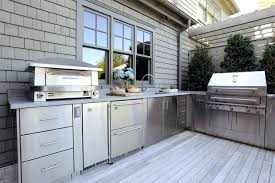 stainless steel cabinets for outdoor kitchens outdoor kitchen stainless steel cabinets doors island utensils names
