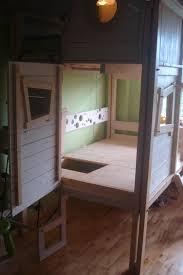 children u0027s bed house wood art house