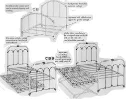 southwest country wesley allen twin bed collection iron beds