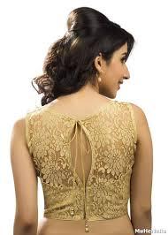 golden blouse buy gold readymade sleeveless blouse