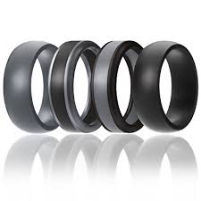 rubber wedding ring silicone wedding ring for men by soleed rings power