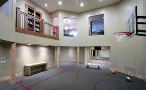 Ideas For Indoor Home Basketball Courts Home Design Lover - Home basketball court design
