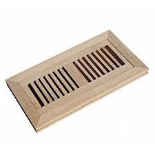 welland hardwood flush mount floor register vent unfinished 4
