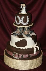 western wedding cake topper ideas of the western themed wedding cakes weddingelation