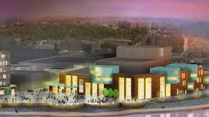 confluence arts center design unveiled university of wisconsin