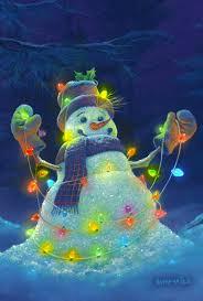 toland home garden glowman snowman 28 x 40 inch decorative usa