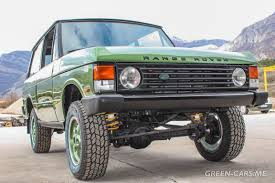 green range rover classic green cars me range rover classic projects
