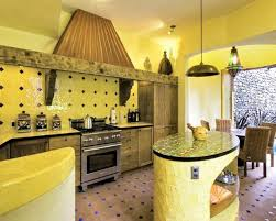 yellow and brown kitchen ideas black and yellow color schemes for modern kitchen decor