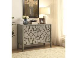 Accent Chests For Living Room Coaster Accent Cabinets Accent Cabinet With Carved Doors Del Sol