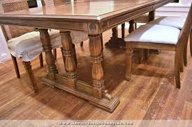 My Finished DIY Farmhouse Dining Table - Ebay kitchen table