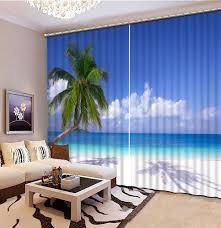 curtains ideas beach curtains for living room inspiring